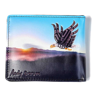 'Flight' Wallet by Andy Everson
