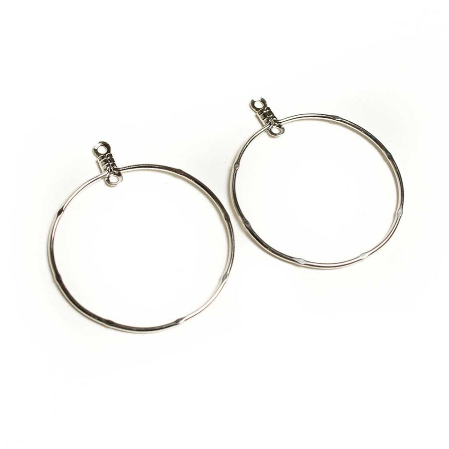 30mm Round Earhoops - Beaded Dreams