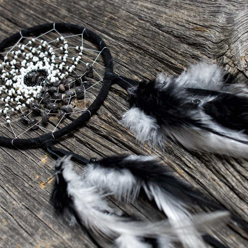 'Energy Flow' Black Dreamcatcher