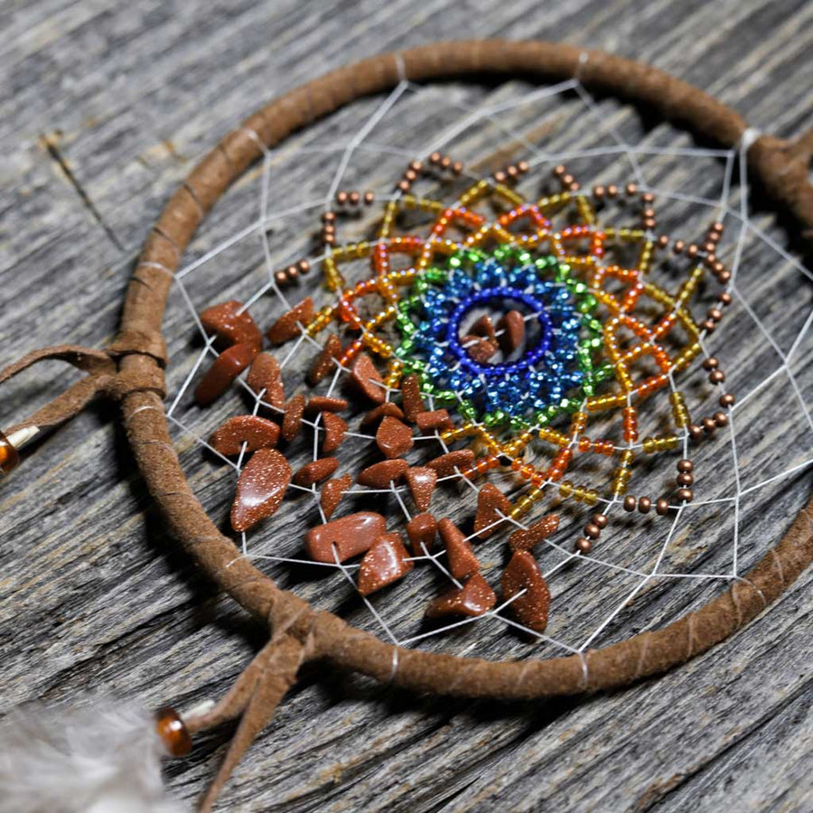 'Energy Flow Sun' Dreamcatcher