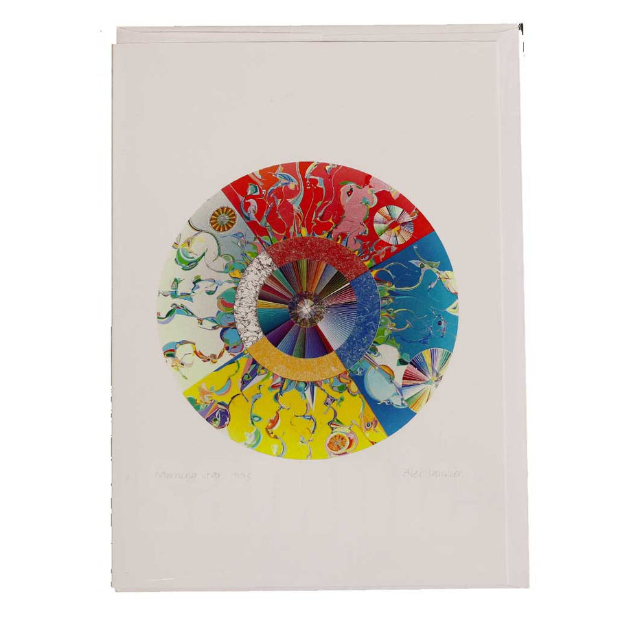 'Morningstar' Greeting Card by Alex Janvier