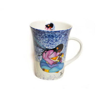 'Joyous Motherhood' mug by Cecil Youngfox