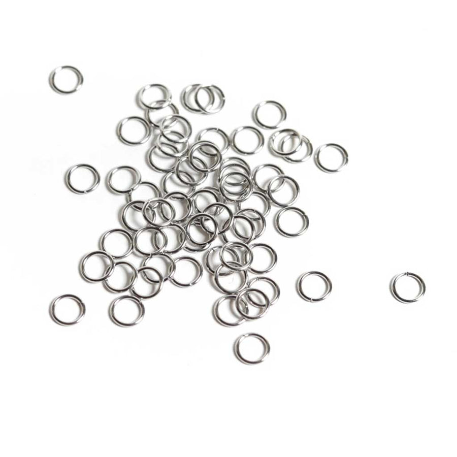 Stainless Steel Jump Rings - 6mm