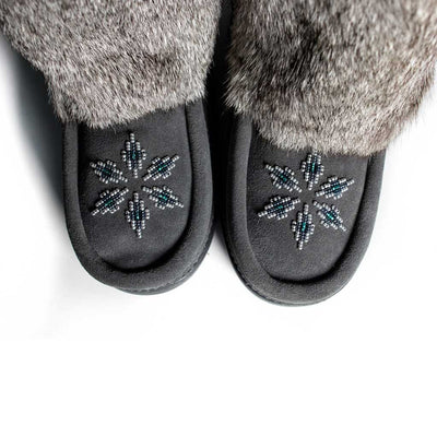 Kanada Charcoal Mukluk - Beaded Dreams  - 5