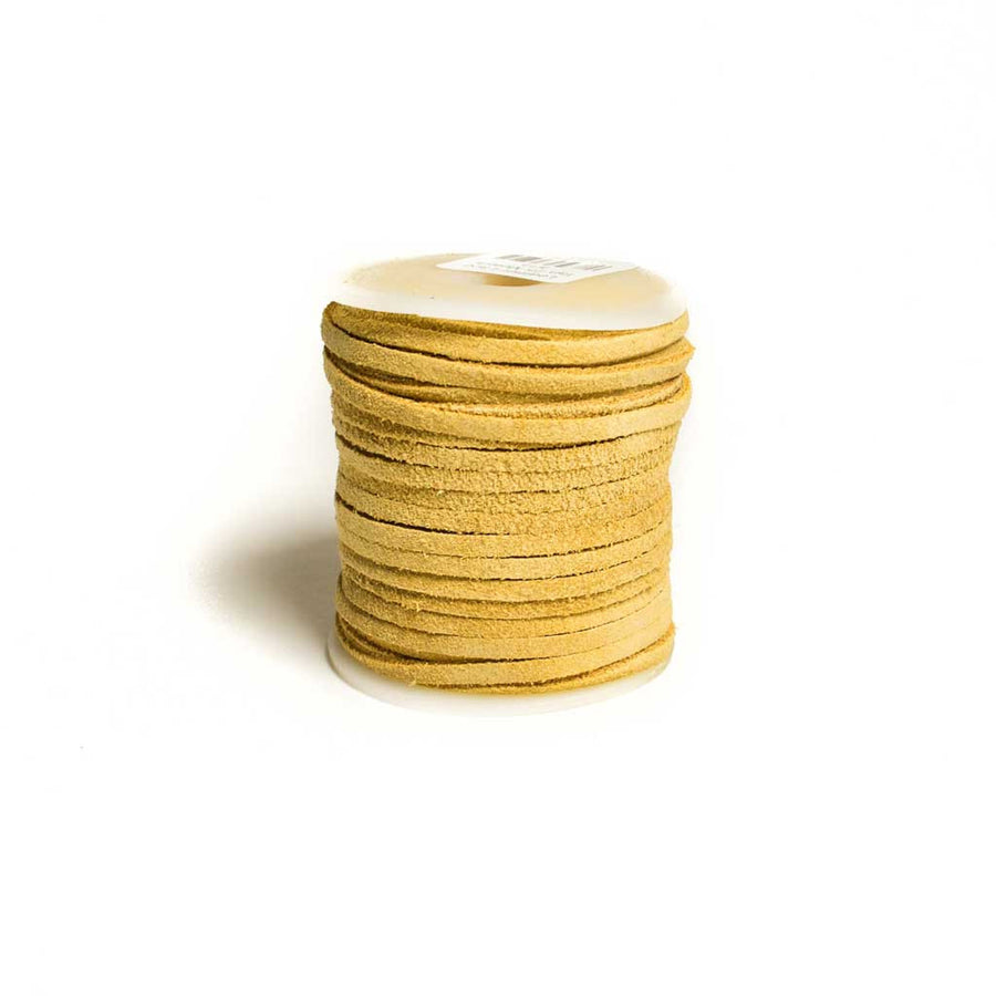 Suede Leather Lace Spools - Beaded Dreams  - 1
