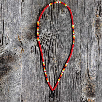Beaded Lanyards by 'Walking Beads'