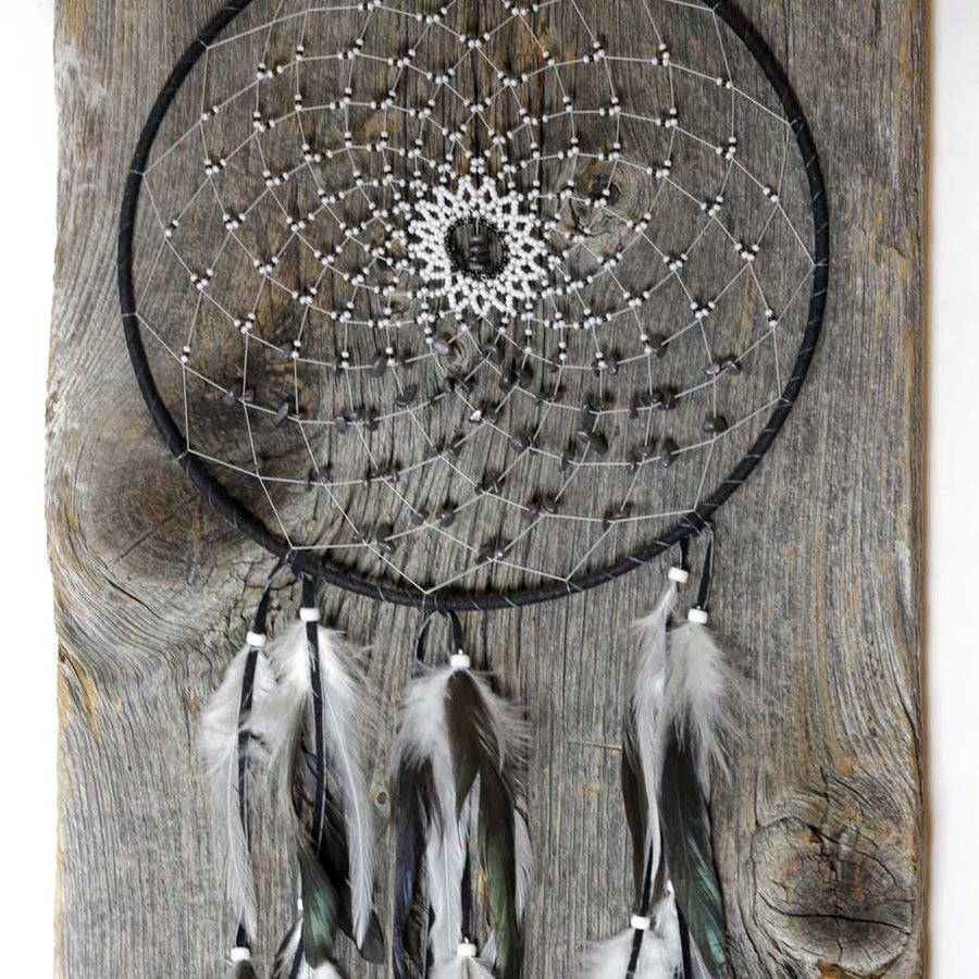 Large Hematite Dreamcatcher