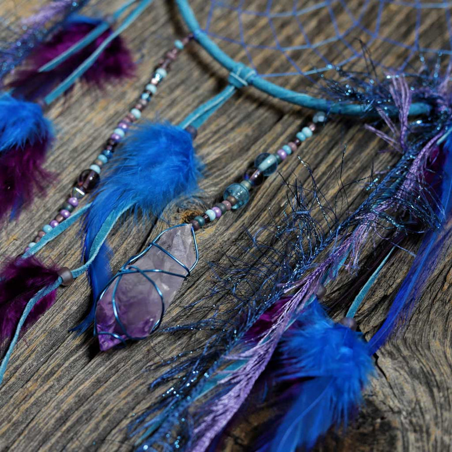 Turquoise w/ Amethyst Dreamcatcher