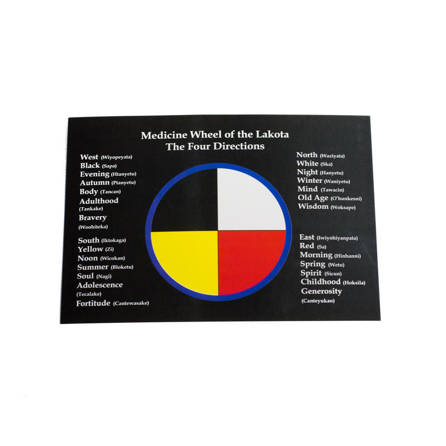Medicine Wheel Card - Beaded Dreams