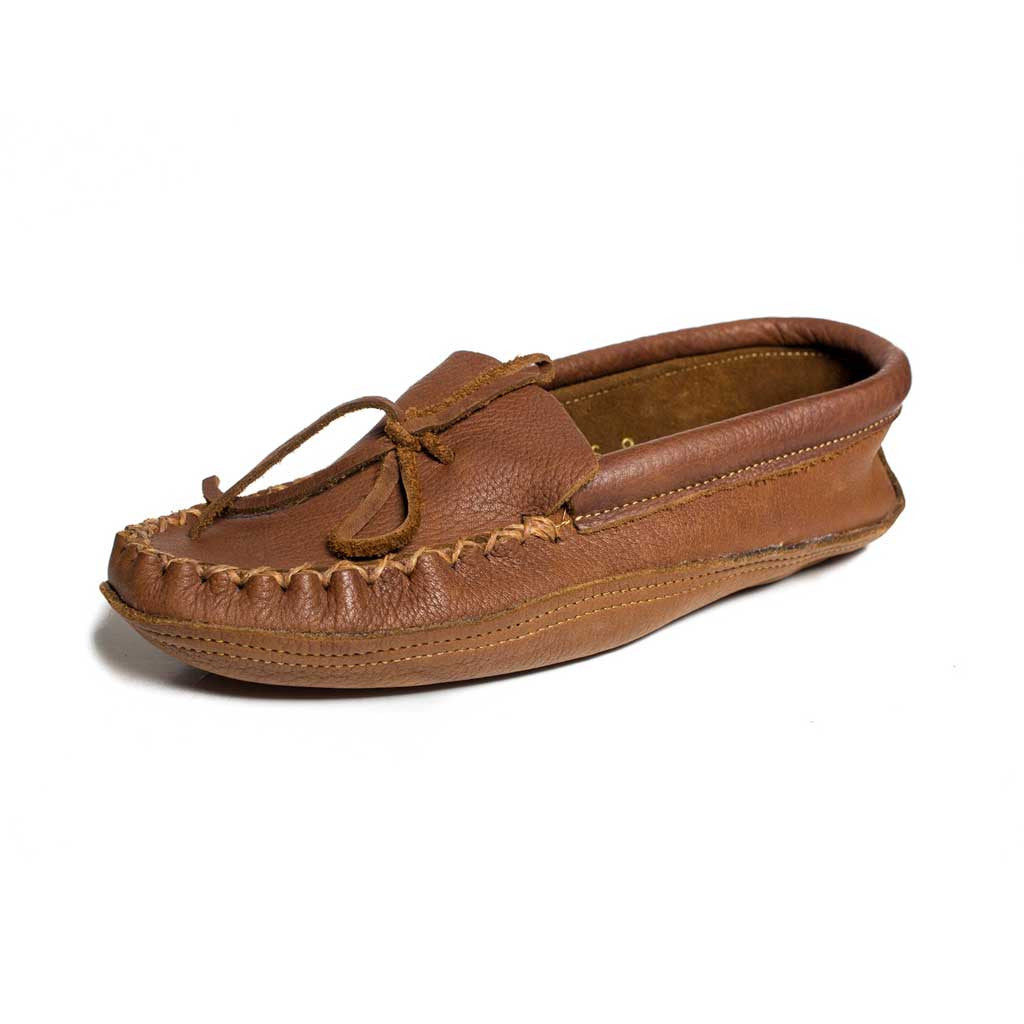 Men's Full Buffalo Hide Moccasin - Beaded Dreams  - 1