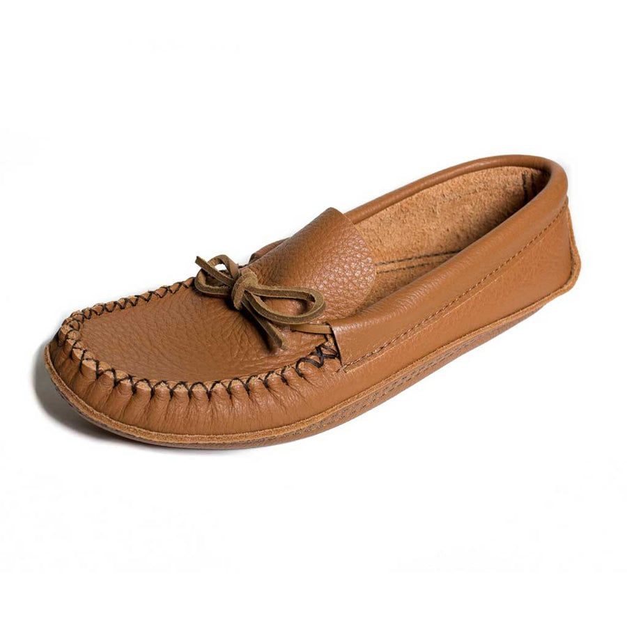 Men's Bull Hide Moccasin - Beaded Dreams  - 1
