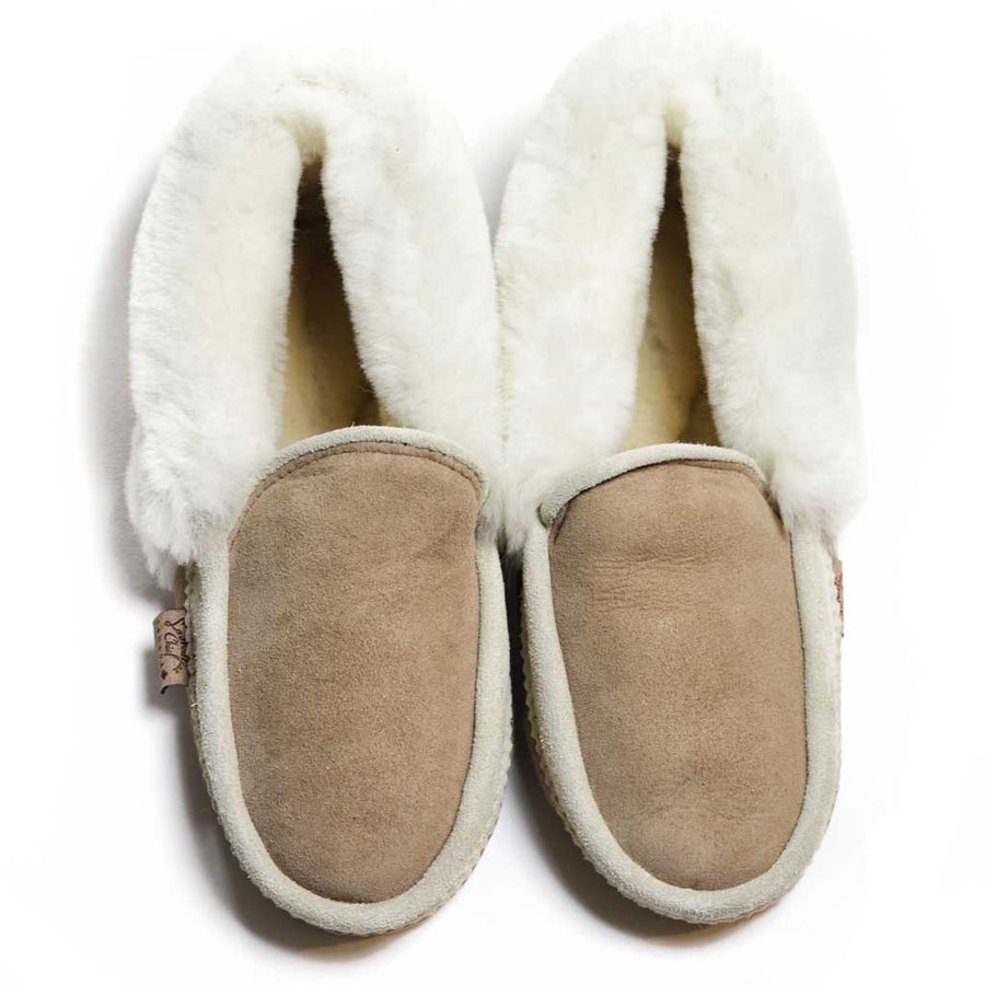 Men's Sheepskin Moccasin w/ Padded Sole