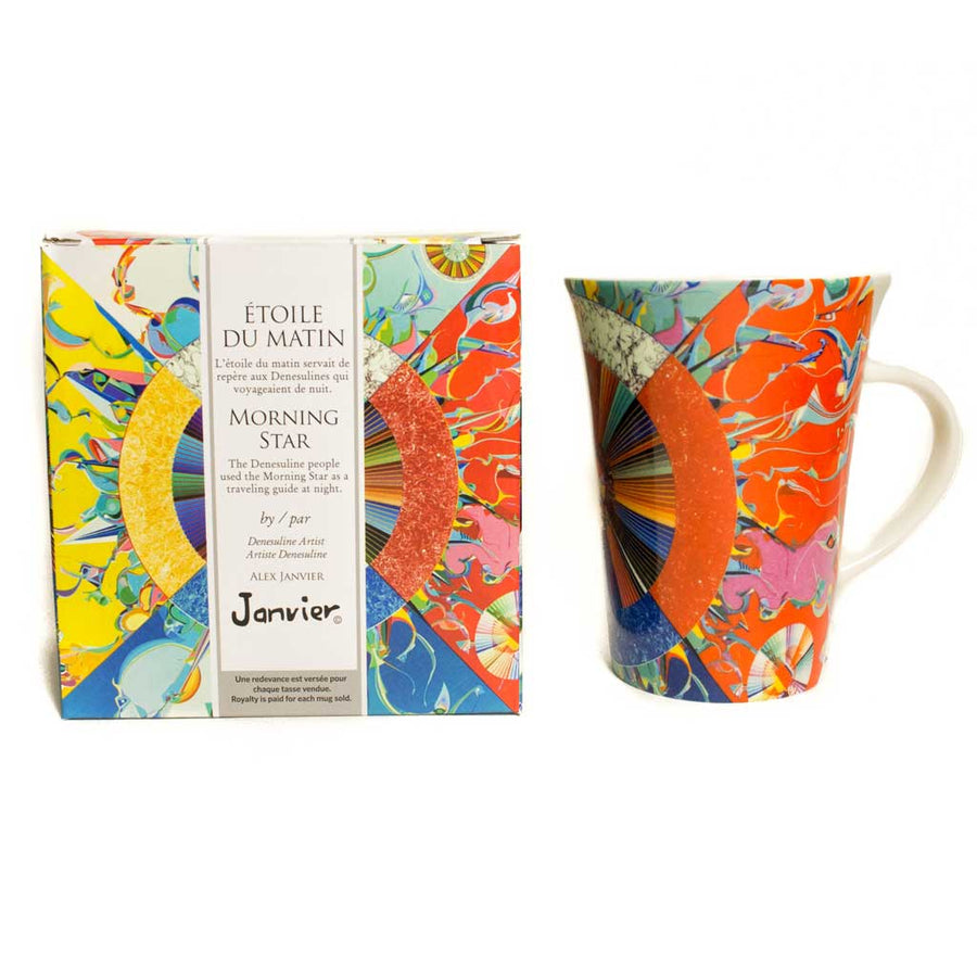 'Morningstar' mug by Alex Janvier