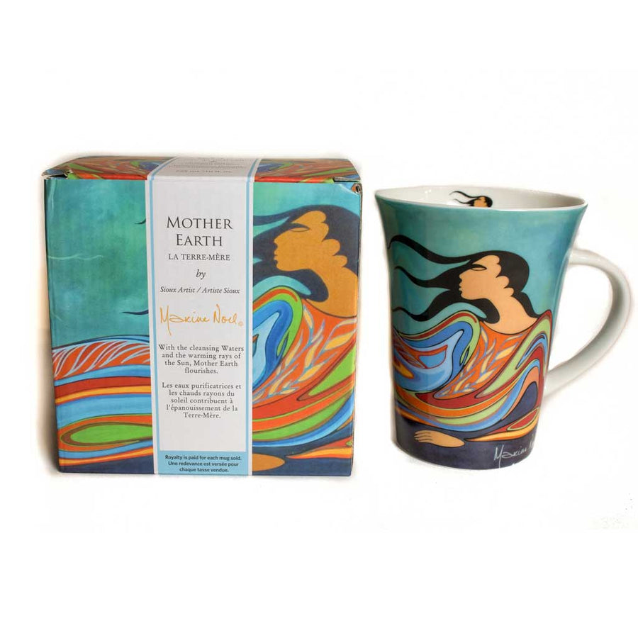 'Mother Earth' mug by Maxine Noel