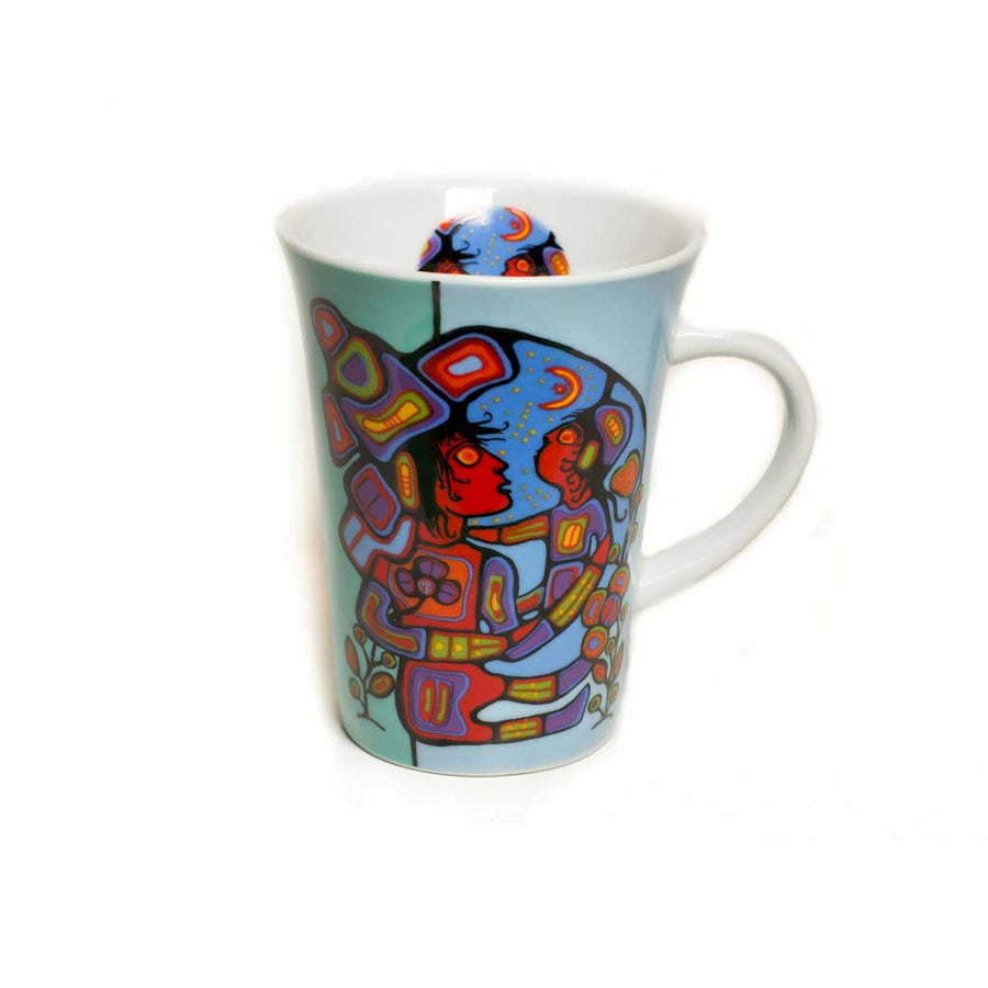 'Mother & Child' mug by Norval Morrisseau