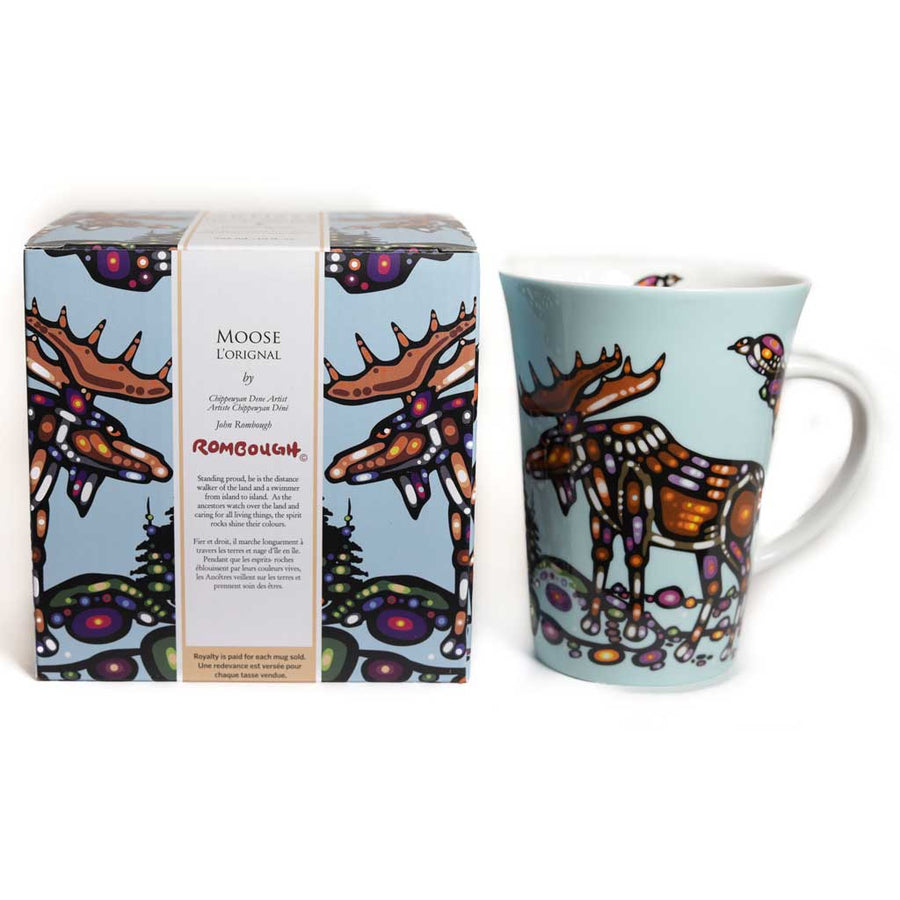 'Moose' mug by John Rombough