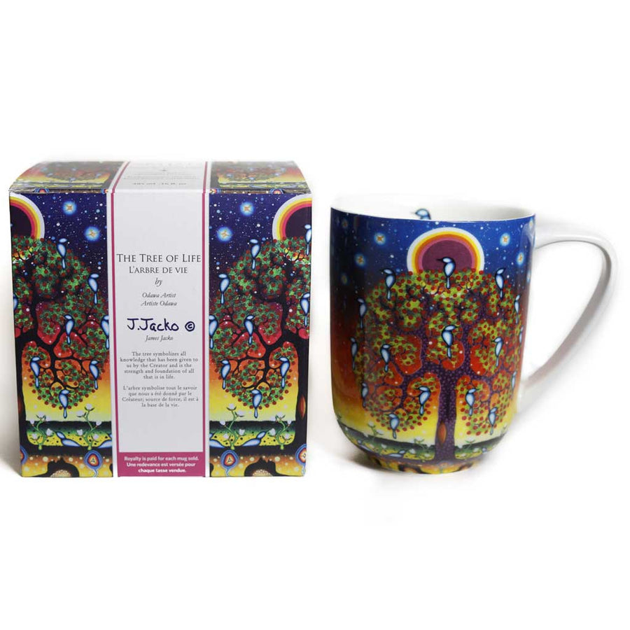 'Tree of Life' mug by James Jacko