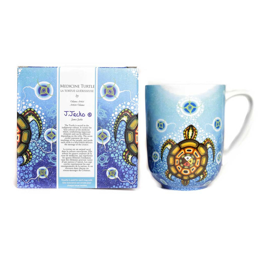 'Medicine Turtle' mug by James Jacko