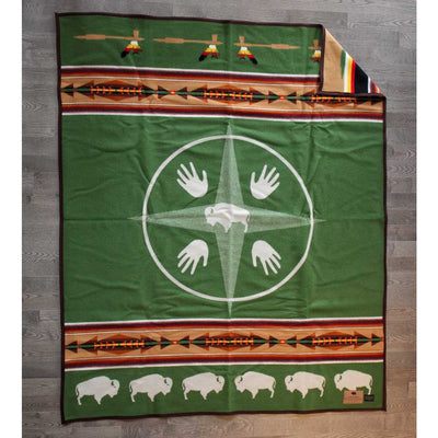 'Big Medicine' Pendleton Blanket