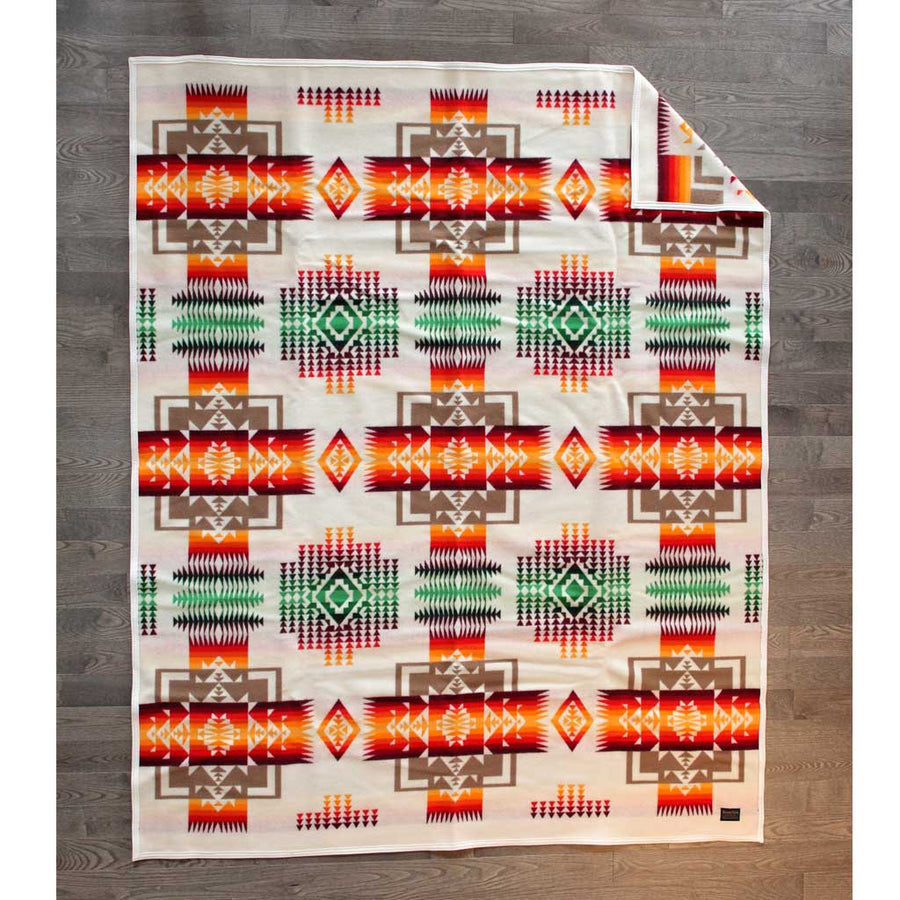 'Chief Joseph' Pendleton Blanket - Ivory