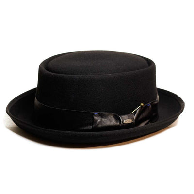 Wool Felt Porkpie hat