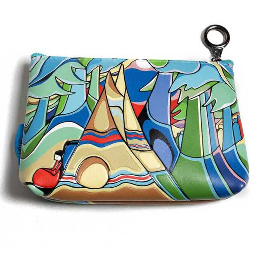 '...And Some Watched the Sunset' Coin Purse by Daphne Odjig