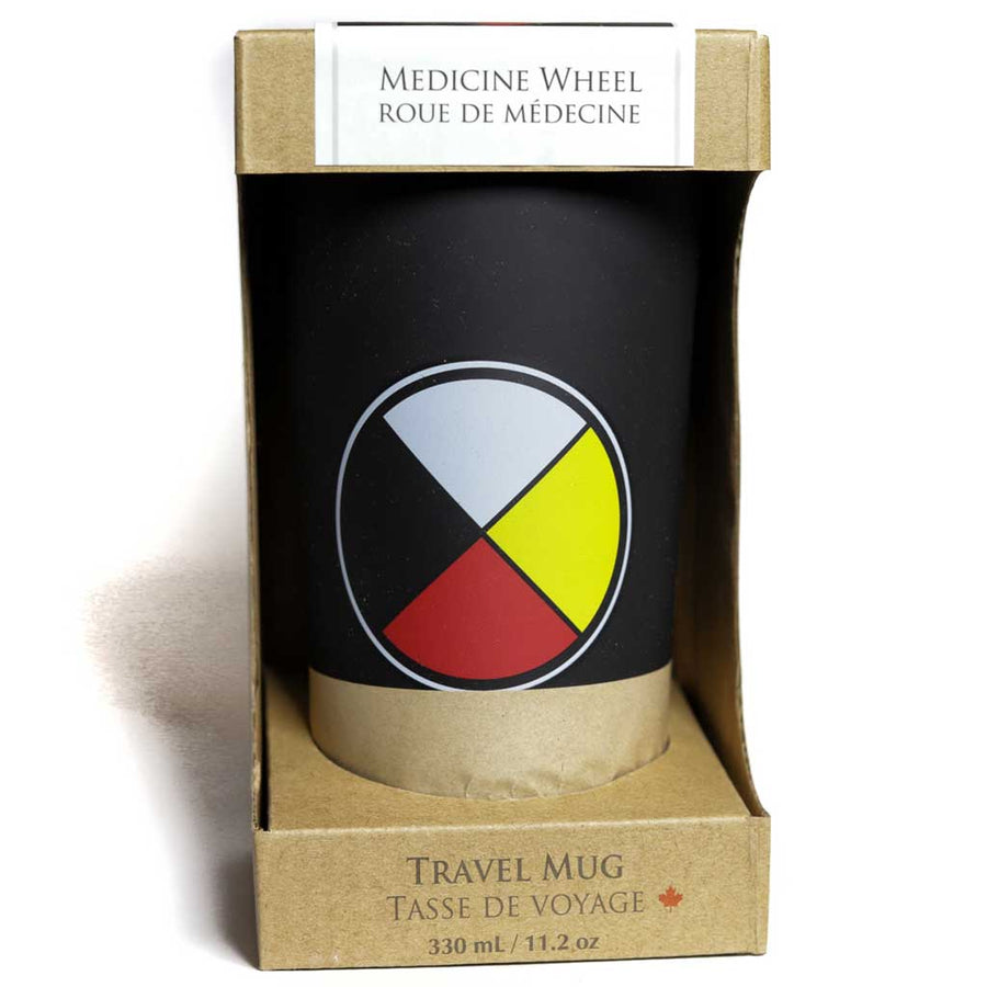 Medicine Wheel Stainless Steel Travel Mug