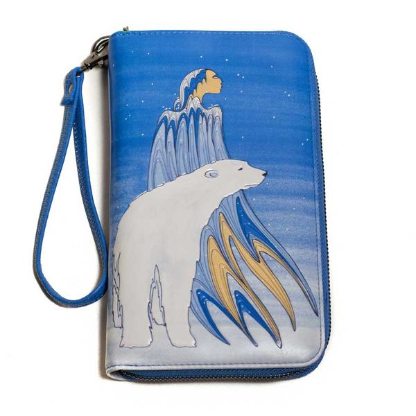 'Mother Winter' Travel Wallet by Maxine Noel