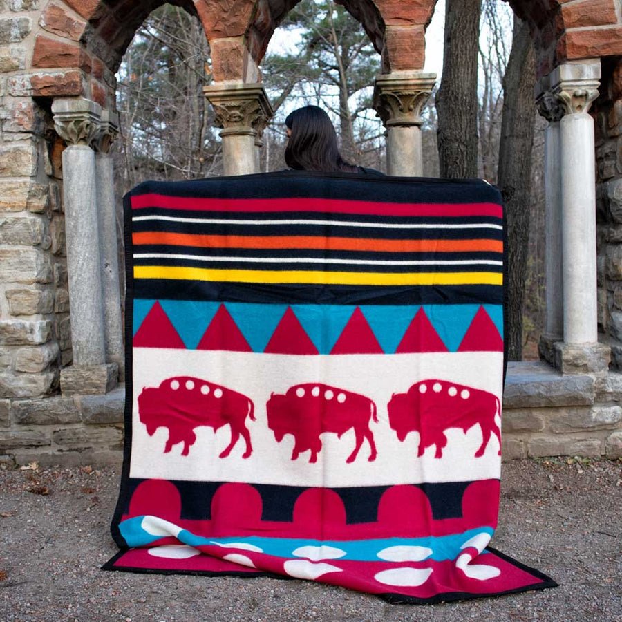 Boy Chief 'Buffalo' Blanket