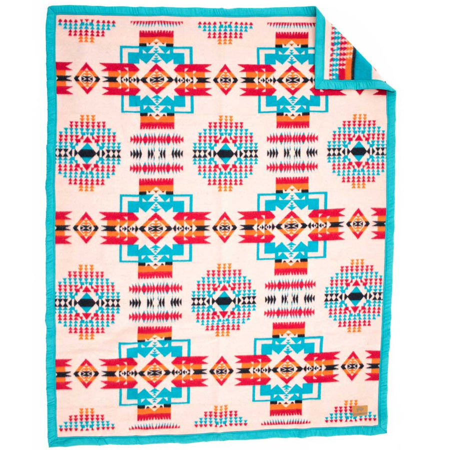 Boy Chief Blanket - Salmon Pink