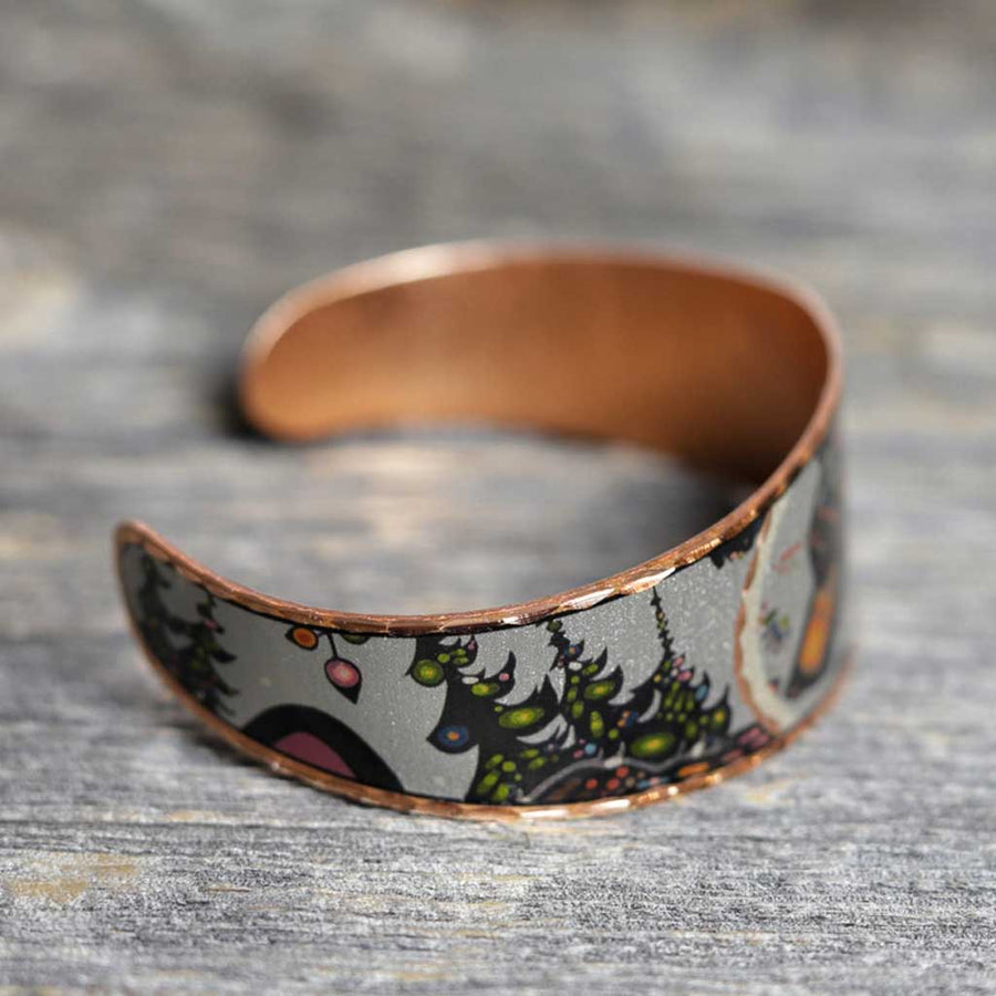 'The Bear' Copper Bracelet - John Rombough