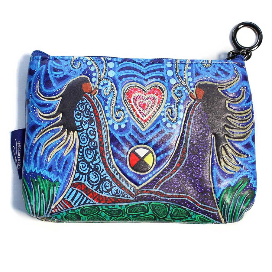 'Breath of Life' Coin Purse by Leah Dorion