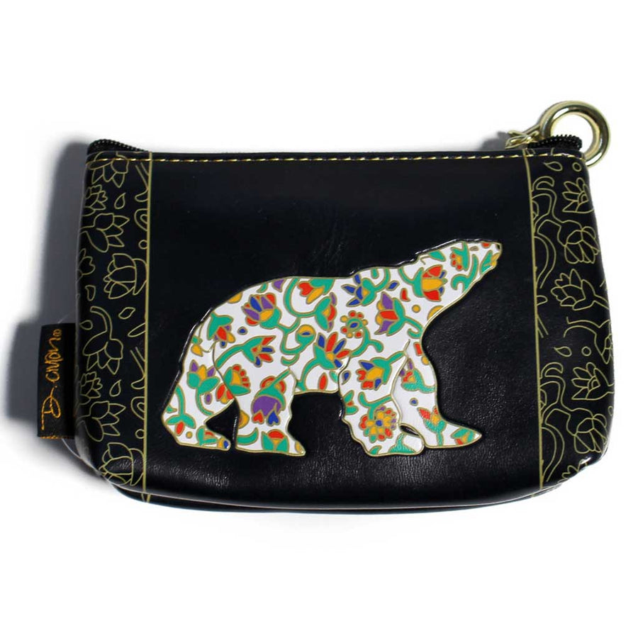 'Spring Bear' Coin Purse by Dawn Oman