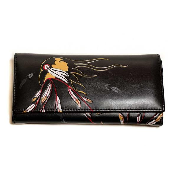 'Eagle's Gift' Wallet by Maxine Noel