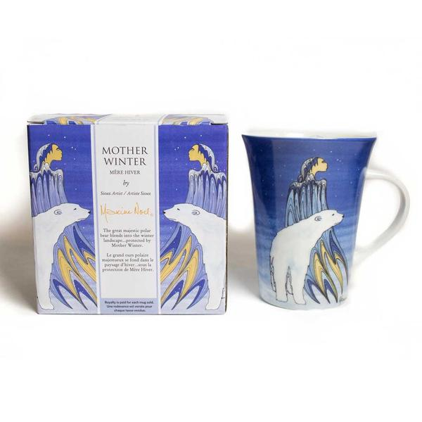 'Mother Winter' mug by Maxine Noel