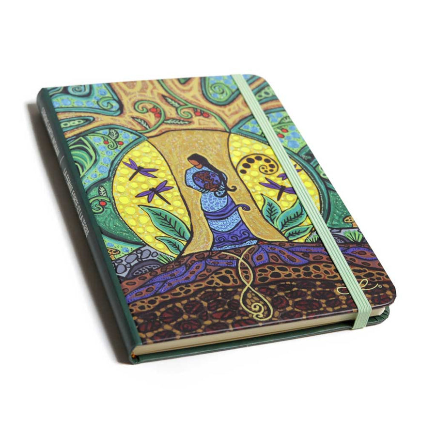 'Strong Earth Woman' Hardcover Journal