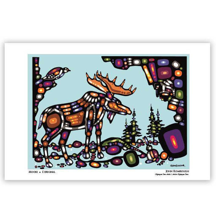 Art Card - 'Moose' by John Rombough