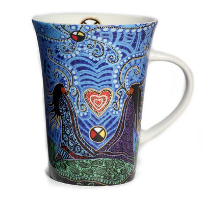 'Breath of Life' mug by Leah Dorion