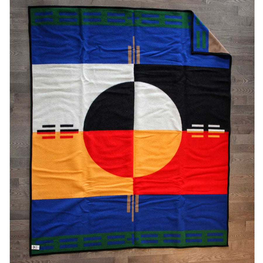 'Circle of Life' Pendleton Blanket