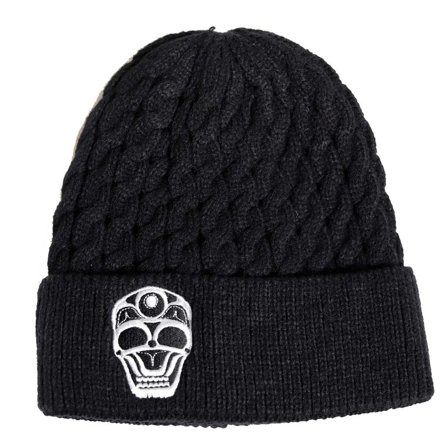 'Skull' Knitted Toque by James Johnson