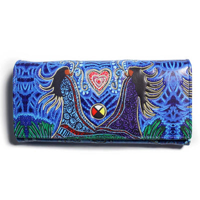 'Breath of Life' Wallet by Leah Dorion