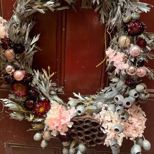 Full Dried and Preserved Christmas Wreath