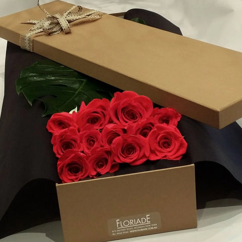 Colombian Roses in a Gift Box