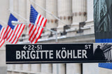 American Street Sign Closeup / 100500
