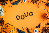 A spider themed Halloween background \ 100846