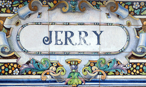 Ceramic Tile Name Plaque / 100759