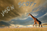 Giraffe Among Clouds / 100758