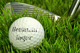 Golf Ball Closeup / 100389
