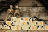 Happy Halloween Wooden Blocks / 100763