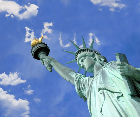Name In Clouds Above the Statue Of Liberty / 100540